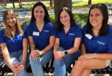 SLHS students participate in the Dean's Ambassador Program