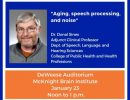 Rehabilitation Science Seminar Series – Don Sinex – 1.23.19